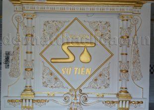 trang trí vách tường phong cách cổ điển