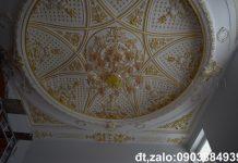 trần vòm thạch cao cổ điển