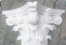 cột cổ điển bằng xi măng hặc thạch cao